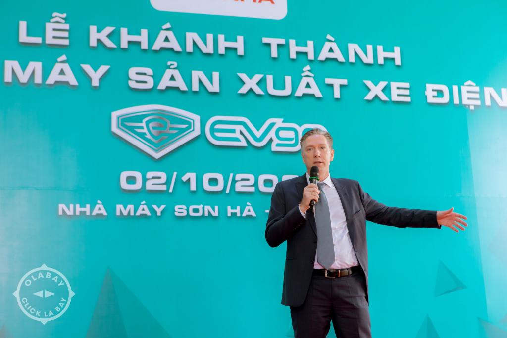 Lễ Khánh Thành Nhà Máy Sản Xuất Xe Điện Evgo Tại Bắc Ninh