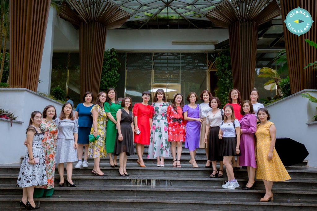 Sở KHĐT Tỉnh Yên Bái tổ chức Team Building kỷ niệm Ngày Phụ nữ Việt Nam 20/10